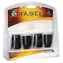 37415: Taser C2 Replacement Cartridges-Live 4 Pack.