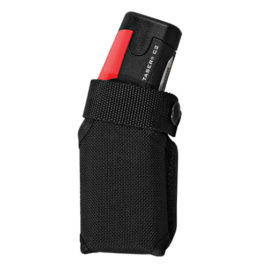 39009: Taser C2 black tactical holster.