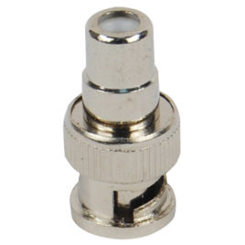 BNC-001-RB: RCA FEMALE TO BNC MALE ADAPTER