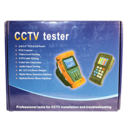 CCTV-TEST: CCTV TESTER 2.8 inch LCD SCREEN, DC OUTPUT
