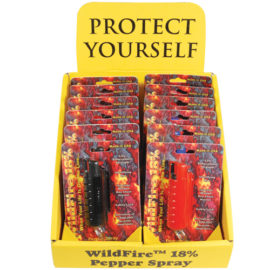 Wildfire Pepper Spray Displays