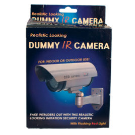 DM-IRCAM: IR DUMMY CAMERA WITH LED