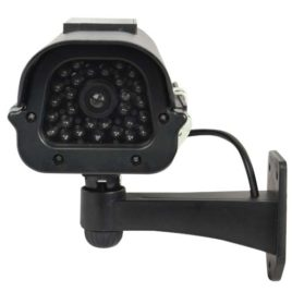 DM-SOLAR-BLK: Solar Powered Dummy Camera Black