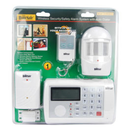 HA-SYSTEM: HomeSafe Wireless Home Security System