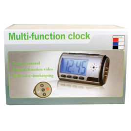 HC-ALCLK-DVR: MINI DIGITAL COLOR ALARM CLOCK DVR