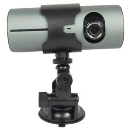 HC-DASH1-DVR: MINI DASH CAMERA WITH BUILT-IN DVR AND LCD SCREEN