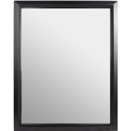 HC-MIRBK-DVR: BLACK FRAME MIRROR HIDDEN CAMERA WITH BUILT-IN DVR