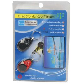 KEY-FINDER: Safe Family Life Key Finder with 2 Receivers and 1 Transmitter