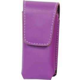 LH-RUNT-PUR: Purple Leatherette Holster for RUNT Stun Gun