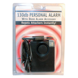 PAL-1LIGHT: 3 IN 1 130db PERSONAL ALARM WITH LIGHT