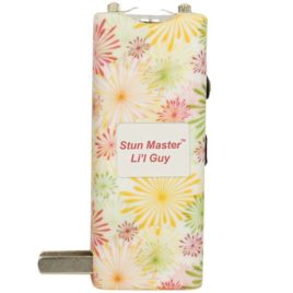 SM-LILGUY-FW: Stun Master Lil Guy 12,000,000 volts Flower Stun Gun W/flashlight and Nylon Holster